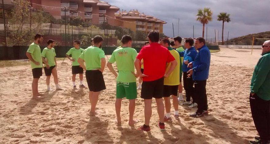 Entrenamiento en la arena