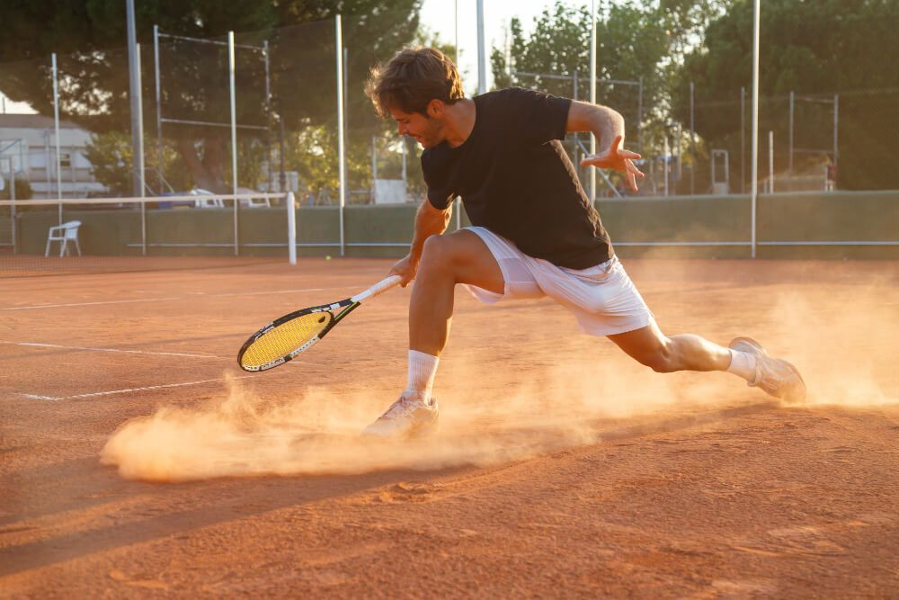 Rendimiento deportivo controlando las emociones en jugador de tenis